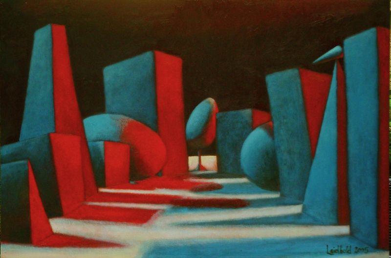 Wolfgang Leidhold, The Twelve Small Prophets / Die zwölf kleinen Propheten, Egg-tempera & oil on canvas, 31,5 x 39,4 inches, 2004 Tempera, Öl auf Leinwand, 80 x 100 cm, 2004