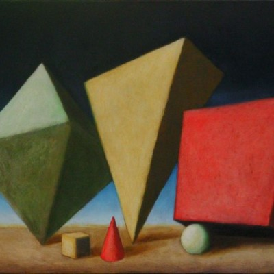 Wolfgang Leidhold, The Three Magi / Die drei Weisen aus dem Morgenland,Egg-tempera & oil on canvas, 31,5 x 39,4 inches, 2006 Tempera, Öl auf Leinwand, 80 x 100 cm, 2006