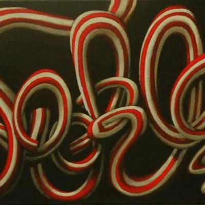 Wolfgang Leidhold, Laokoon / Laokoon, Egg-tempera & oil on canvas, 27,5 x 39,4 inches, 2007 Tempera, Öl auf Leinwand, 70x 100 cm, 2007