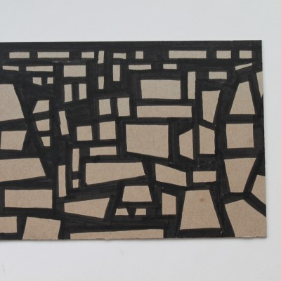Wolfgang Leidhold, Sketch No 02, Sketch No 02, Ink on paper - 6,5 x 9,25 inches - 2013 Tinte auf Papier - 17 x 23 cm - 2013