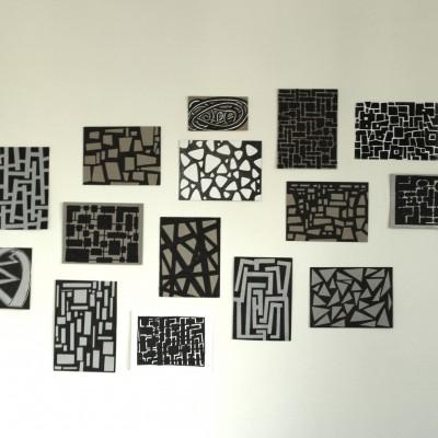 Wolfgang Leidhold, Cloud of Sixteen Sketches / Wolke aus sechzehn Skizzen