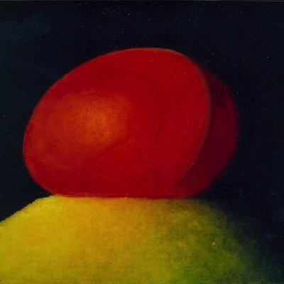 Wolfgang Leidhold, Purgatory / Fegefeuer, Egg-tempera & oil on canvas - 23,6 x 31,5 inches - 2003 Tempera & Öl auf Leinwand - 60 x 80cm - 2003