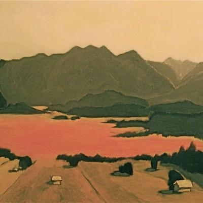 Murnau, Bavaria: The Moss Lands - 60 x 80 -acrylics and oil